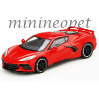 MINI GT MGT00150 2020 CHEVROLET CORVETTE STINGRAY C8 1/64 DIECAST TORCH RED