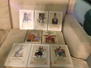 American Girl book lot, Josefina, Samantha, Kit, Kirsten, Julie, Caroline