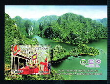 N.1053B-Vietnam-Block Trang An-Natural Heritage world- UNESCO (New Issued)2015