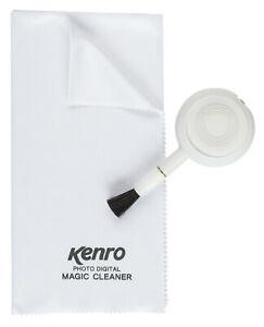 KENRO Kleiner Pustebalg + Reinigungstuch / Blower Medium + Magic Cleaning Cloth