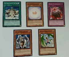 YuGiOh 5 Cards Sanctuary Consecrated Light Divine Punishment Soul of Purity more