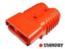 1pc ANDERSON SB175 AMP CONN1/0 ORN 18V CONNECTOR PLUG 53MM TERMINALS JUMP BATTER