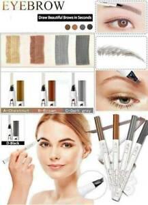 Waterproof Fork Tip Eyebrow Tattoo Pen Microblading Eyebrow Makeup Ink Pen