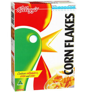 KELLOGGS CORN FLAKES INDIVIDUAL PORTIONS 25GM x 30 PACKS - FREE POST
