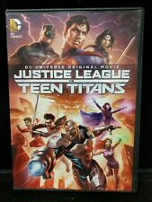 USED Justice League vs. Teen Titans DVD 2016 DC Universe Widescreen Epic M2-M