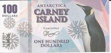 CARNEY ISLAND ANTARTIDA 100 DOLLARS 2016