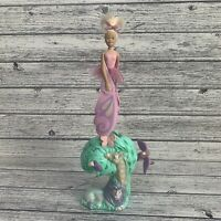 Sky Dancers Vintage By Galoob Pink Fairy With Safari Zoo Stand Launcher Jungle