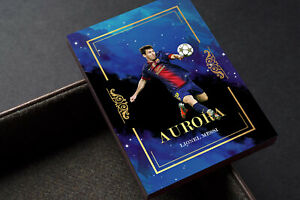 Aurora Lionel Messi Barcelona FC Gold Unbranded Soccer Card