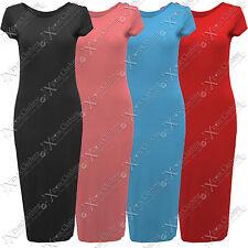 Viscose Round Neck Regular Size Dresses Midi