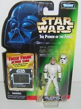 Star Wars POTF2 Freeze Frame FF Luke Skywalker ( Stormtrooper Disguise )
