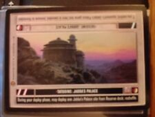 Star Wars CCG Jabba's Palace Tatooine:Jabba`s Palace DS NrMint-MINT SWCCG