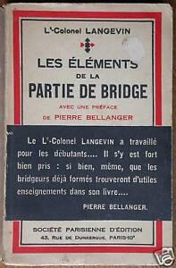 Langevin Bridge Eléments de la partie Règle de Jeux