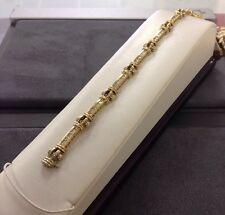 Beautiful 14K Two Tone Gold Ladies Diamond Bracelet