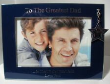 "WHITEHILL  STUDIO GREATEST DAD PICTURE FRAME"" WP2720  MINT IN BOX"