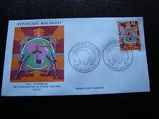 MADAGASCAR - enveloppe 25/5/73 - o.u.a. - yt n° 529 - (cy5) (A)