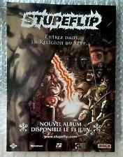 Publicité advert concert album advertising STUPEFLIP 2005 Lp