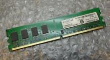2GB Crucial ct25664aa800.y16f PC2-6400U 2Rx8 DDR2 NON - ECC COMPUTER MEMORIA RAM