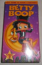 Betty Boop VHS Tape-All-Time Classic Cartoon New Still Sealed