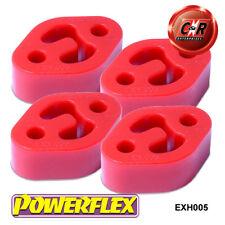 4 x Honda Civic (EG4-EG5-EG6) 94 Powerflex Exhaust Mounts EXH005