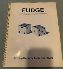 FUDGE Role-Playing Game RPG Original 1992/1995 Basic Edition Core Rule Book RARE