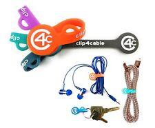 clip4cable 5 magnetische Kabelhalter Kabelclip Silikon Kabelbinder Kabelwickler