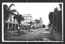 Guayaquil rppc Calle 10 de Agosto Cars Ecuador 50s