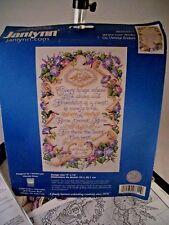 "Cross Stitch Kit Janlynn #023-0311 ""Where Love Abides"""