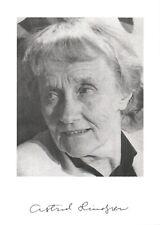 Astrid Lindgren *UH* Pippi Langstrumpf Autogrammkarte orig signiert AK 5309
