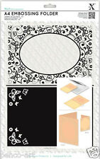 Xcut Xpress A4 embossing folder Butterfly Aperture Use A4 or wider machine