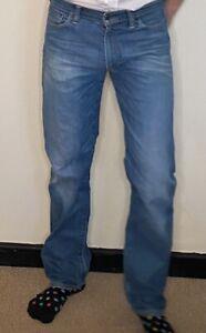 Levi 504 Men's Blue Jeans W33 L34