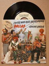 "7"" Fritzz And Hizz Jazzclownzz Dallas Louche Loesje Nm Ps 1982 Rare Nederpop"