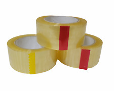 3 Pack Heavy Tape Box Shipping Acrylic Clear Packing 2 In X 110 Yards X 18 Mil