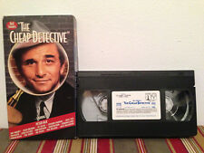 The Cheap Detective (VHS, 1997) tape & sleeve