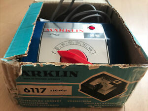 Transformateur MARKLIN ref 6117 en boite d origine