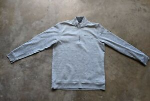 Under Armour Storm Mens Large Gray 1/4 Zip Pullover Sweater Orchard Creek Golf