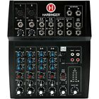 Harbinger L802 8-Channel Mixer with 2 XLR Mic Preamps photo
