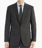 J. CREW LUDLOW - TOLLEGNO 1900 Italian Wool Charcoal Gray Jacket fits a 40 R