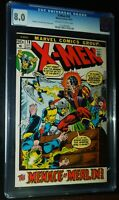 X-MEN #78 1972 Marvel Comics CGC 8.0 VF
