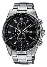 Casio Edifice Massive Edelstahl Uhr EF-547D-1A1VEF schwarz
