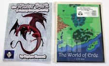 Troll Lord Games TLG-1001 AFTER WINTER DARK + THE WORLD OF ERDE MAP FANTASY RPG