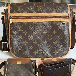 Louis Vuitton Bosphore PM Messenger Bag LV Monogram Canvas Crossbody Bag