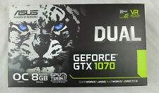 ASUS Dual GEFORCE GTX 1070 8GB OC Computer Graphics Card - 4K and VR Ready