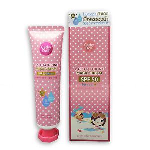 Cathy Doll Karmart L-Glutathione Magic Cream Whitening  Sunscreen SPF 50+ 60ml
