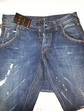 Jack and Jones selvage original RDD high quality Jeans Italy made 33 32