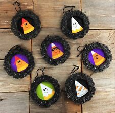 AG Designs Halloween Ornaments - Cute Candy Corn Costumes 8pc Set
