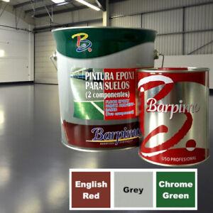 Two (2) Pack Epoxy Resin Floor Paint Coating Concrete Garage Warehouse Workshop