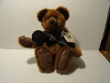 BOYDS BEARS & FRIENDS - STUMPER A POTTER  - FULLY JOINTED BROWN BEAR 12 INCHES