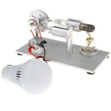 Metall Stirlingmotor Modell / Bausatz Stirling Maschine mit Glühbirne