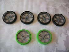 K'NEX  MOTORCYCLE WHEELS AND TYRES LOT 10