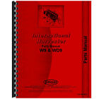 New Parts Manual for McCormick Deering W9 Tractor